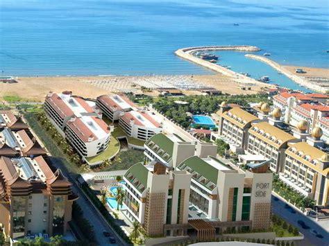 port side port side resort hotel side turquia port side resort