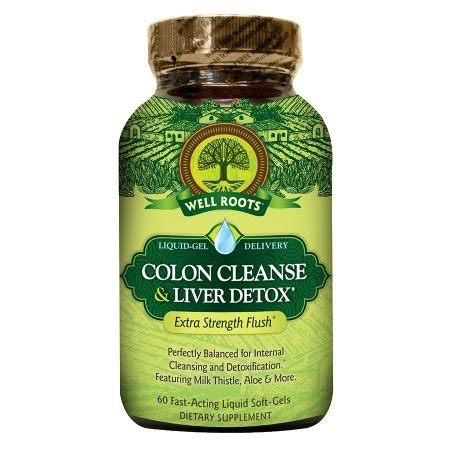 Took Liver Detox Pill And Back Started To Itch by Well Roots Colon Cleanse Liver Detox Softgels Walgreens