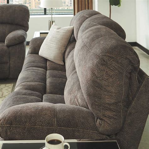 power reclining sofa with adjustable headrest cannelton power reclining sofa with adjustable headrest w