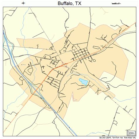 buffalo texas map buffalo texas map 4811116