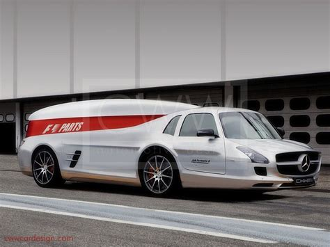 Mercedes Hunt Valley by Amg Renntransporter F1 Partstransporter Hideous