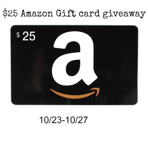 Amazon Gift Card 25 - 25 amazon gift card giveaway jays sweet n sour life