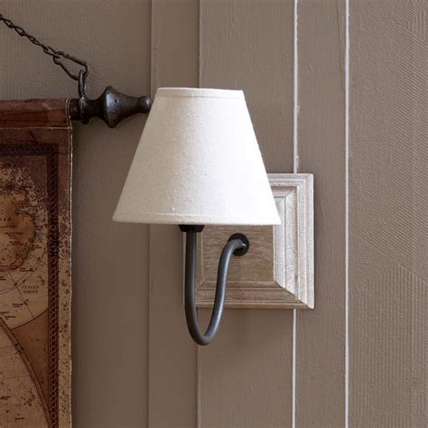loire country light beige linen beige wall light melody maison 174