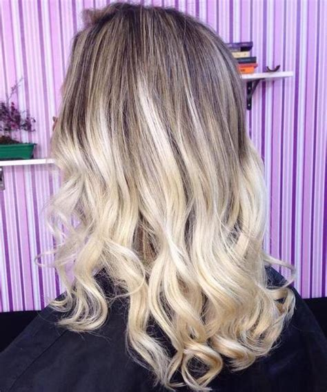 how to add dark roots hair 40 hair сolor ideas with white and platinum blonde hair