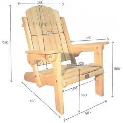 fauteuil adirondack pliant de jardin en bois muskoka