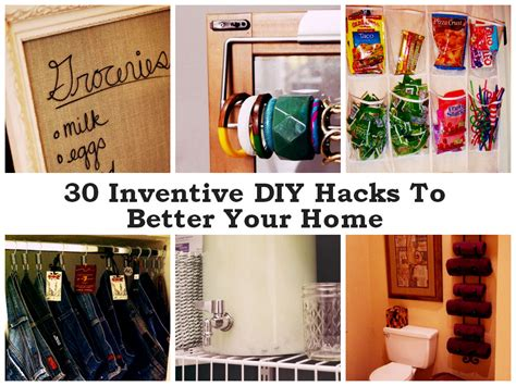 home hacks diy 30 inventive diy hacks to make your home better find fun