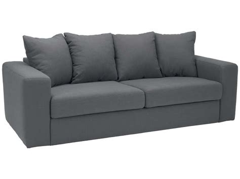 conforama canape fixe 3 places canap 233 fixe 3 places neo coloris anthracite canap 233
