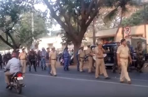 section 144 ipc security stepped up in mysuru after riots section 144