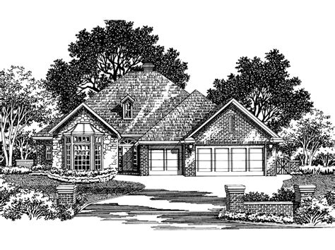 Darien Country Cottage by Darien Mill Cottage Home Plan 036d 0052 House