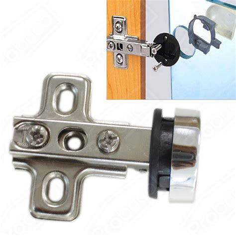Glass Door Hinges For Cabinets Concealed Cupboard Cabinet Glass Door Hinges Nickel Overlay Flush Ebay