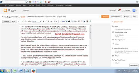 membuat video tutorial di pc cara membuat screenshot di komputer pc dan laptop jadi