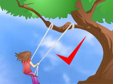 making a swing how to make a swing with pictures wikihow