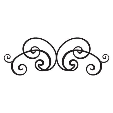 scroll pattern png scroll vinyl wall decals corner decor scroll decal
