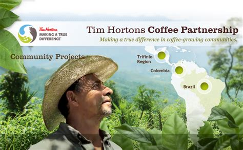 Tim Horton S Rbi Mba Program by Central And South American Coffee Farms And The Tim