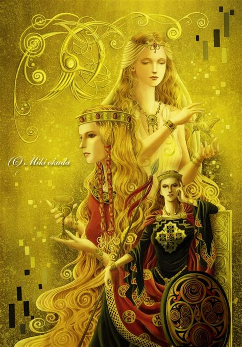 women of myth women of celtic myth by mikioku on