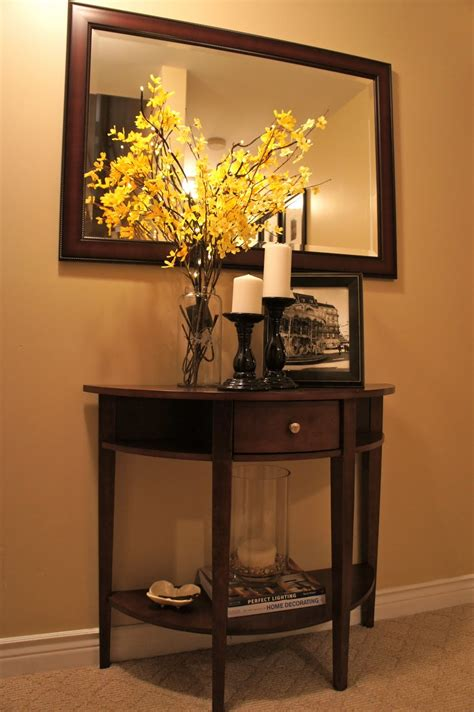how to decorate sofa table how to decorate a console table callforthedream com