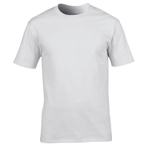 Plain Sleeve Knit T Shirt mens gildan premium cotton plain colour jersey knit
