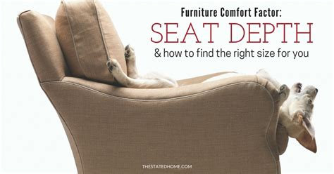 sofa seat depth sofa seat cushions pick the perfect depth the stated home