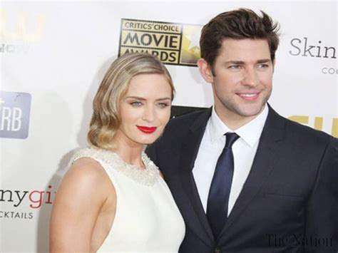 emily blunt wife john forgot emily blunt was his wife