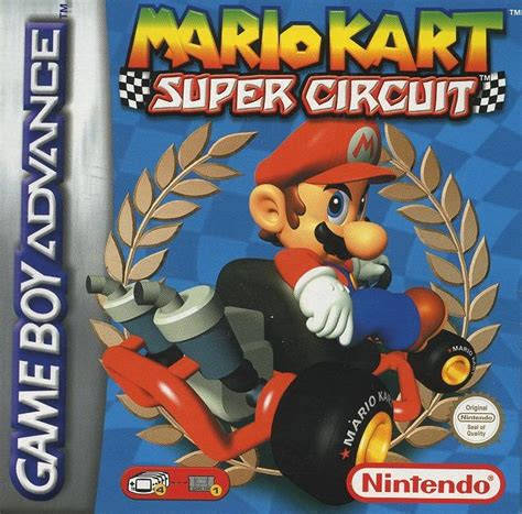 mario kart super circuit sur gameboy advance jeuxvideocom