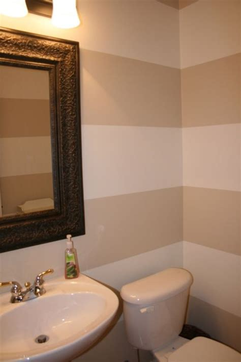 painting stripes in bathroom stripes bathroom and small bathrooms on pinterest