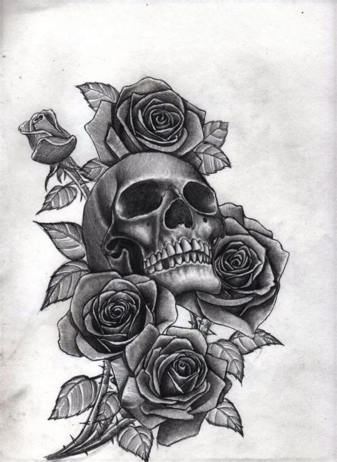 best 20 skull roses tattoo ideas on pinterest skull the 25 best skull tattoos ideas on pinterest skull art