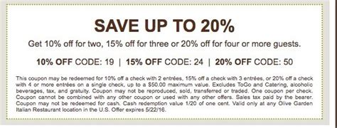 olive garden coupons march 2016 30 off new york botanical garden coupon promo codes