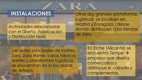 cadena de suministro zara inditex zara cadena de suministro
