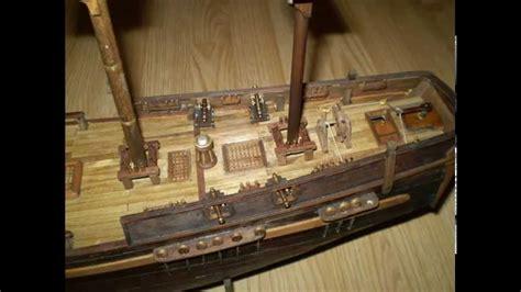 bateau hermione miniature construction maquette bateau en bois youtube