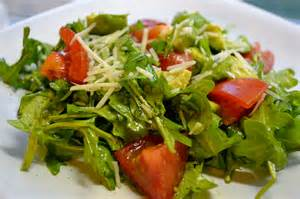Salad by Avocado Tomato And Arugula Salad With Cilantro Vinaigrette