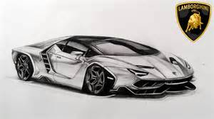 Drawings Of Lamborghini Drawing New Lamborghini Centenario Lp770 4