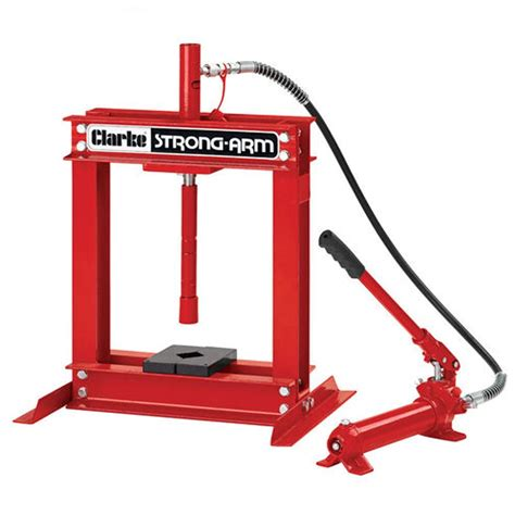 pneumatic bench press clarke csa4b 4 tonne hydraulic bench press