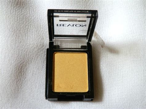 Eyeshadow Revlon Review revlon colorstay shadowlinks gold eyeshadow review