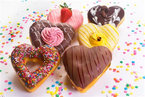 valentines donuts quot shape donuts quot valentine s day special food and