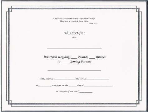 Nebraska Birth Records Blank Birth Certificate Templates Www Imgkid The Image Kid Has It