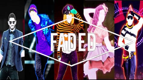 alan walker just dance just dance fanmade mashup faded by alan walker youtube