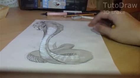 tutorial menggambar ular gambar 3d ular lifestyle vidio com
