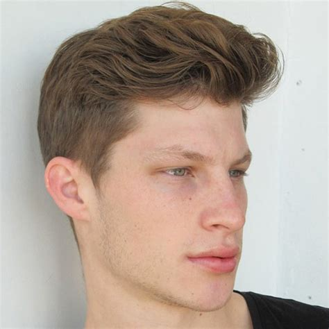 hairstyles on top longer at back easy men s hairstyles long top short sides