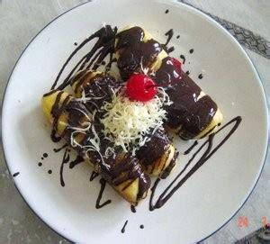 membuat pisang bakar cokelat keju spesial