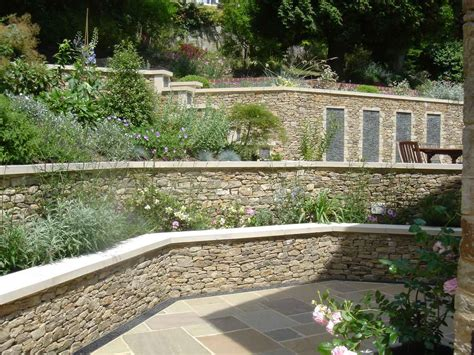 garden wall uk garden wall in guildford surrey pc landscapes