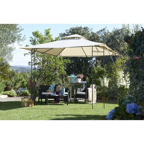 pavillon 3x3m wilko steel gazebo 3x3m at wilko