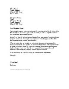 Cover Letter For Secretarial Position by Resume Cover Letter Cover Letters Templates