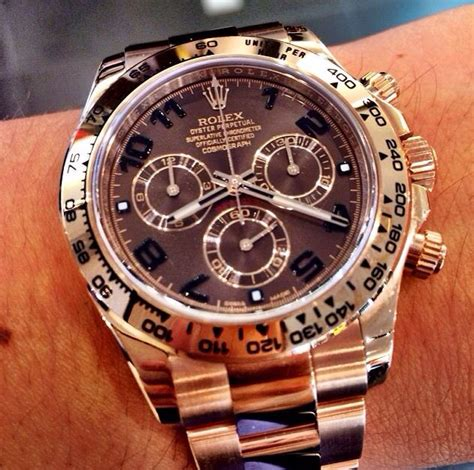 Rolex Daytona Rosegold Brown 40 best ideas about watches on gold