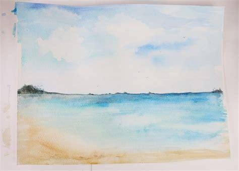 watercolor tutorial beach best 25 watercolor pencils ideas on pinterest