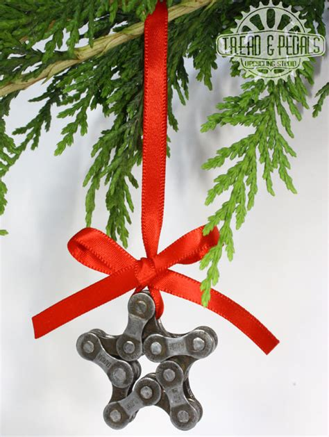 christmas decorations out of bike chains ornament bike ornament bike chain bike