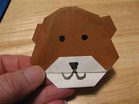 Teddy Origami - how to make an origami teddy ehow uk
