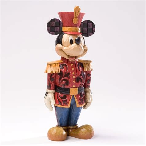 jim shore disney mickey mouse nutcracker soldier christmas