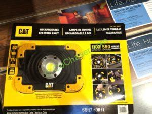 Costco Work Light by Costco 962841 Cat Led Worklight Rechargeable Part1