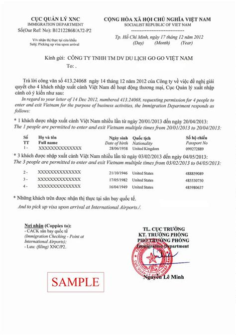 Sle Letter For Visa On Arrival Visa On Arrival Letter 28 Images 3 Common Errors On