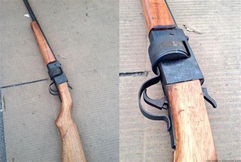 Handmade Gun - mexico gun buy back included a nicely made 22lr
